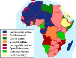 Afrika na konci 19. století