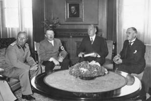 Mnichovská konference 29.9.1938