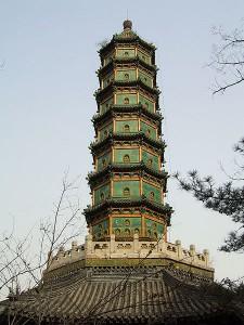Pagoda v Pekingu.