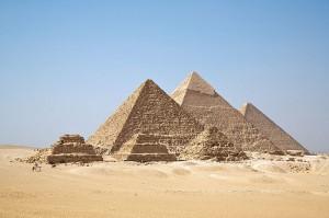 Pyramidy v Gíze.